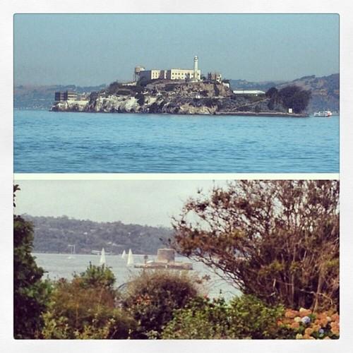 Alcatraz vs Fort Denison