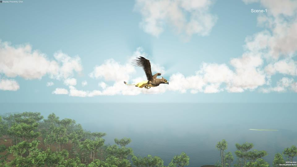 And you are now a griffin in Wander's rainforest