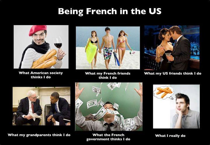 Being French in the US