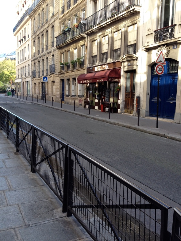In the street of Paris